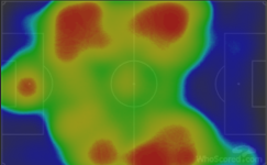 Dortmund heat map